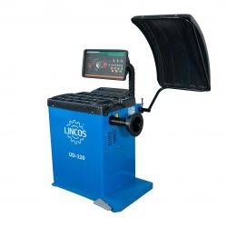 Wheel balancer, manual data input. LED display